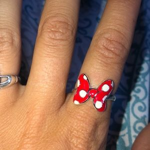 Minnie Mouse Silver Ring